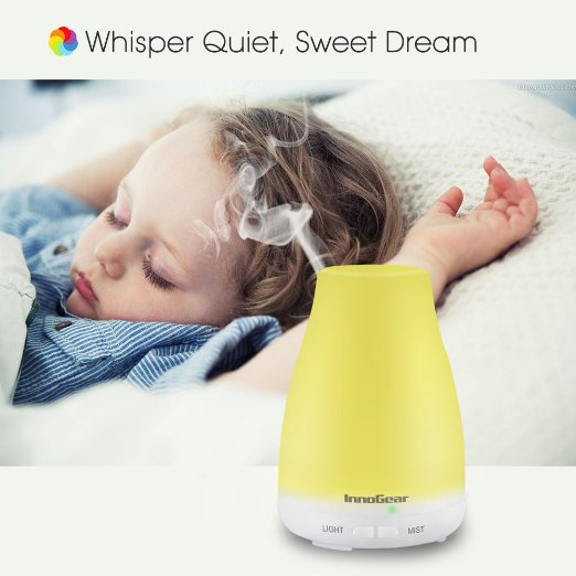 InnoGear 100ml Aromatherapy Essential Oil Diffuser Review