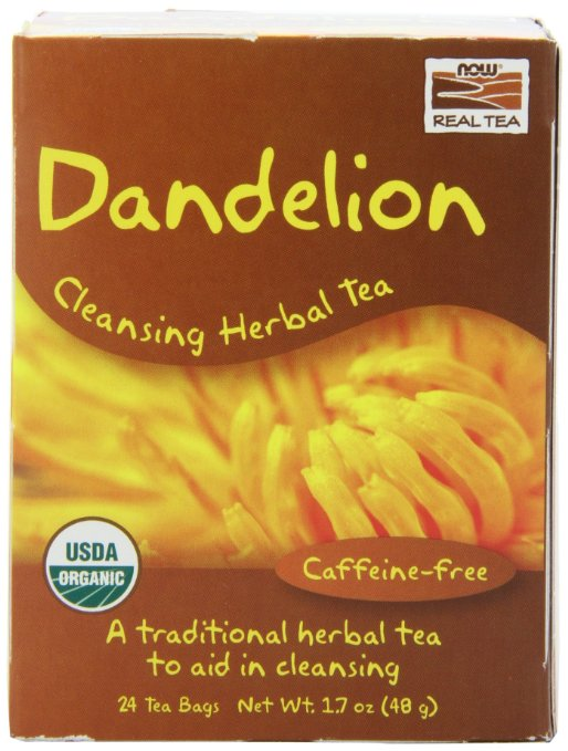 Dandelion Now Foods Tea Bags