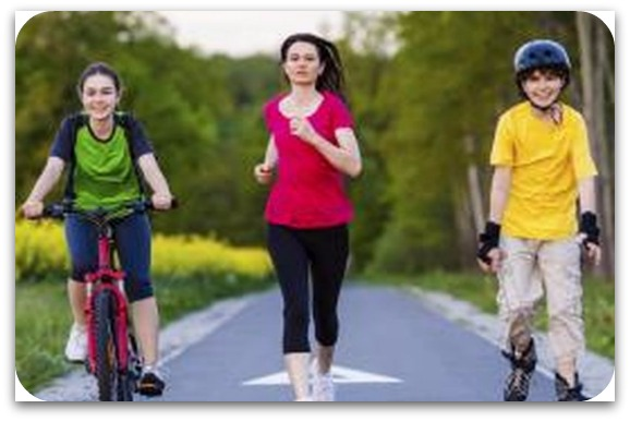 physically active teens