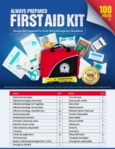 Always Prepared Small First Aid Kit