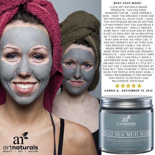 Art Naturals Dead Sea Mud Mask Review