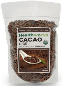 Healthworks USDA Certified Organic Raw Cacao Nibs