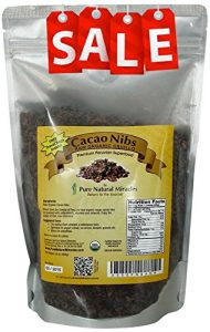 Pure Natural Miracles Raw Organic Cacao Nibs