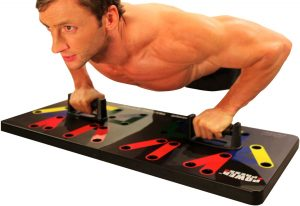 Power Press Pushup Training System Features