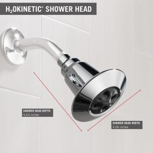 "Delta 75152 3-7/8"" Single-Function Shower Head"