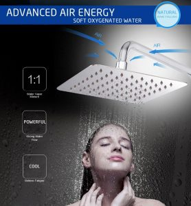 SR Sun Rise Luxury Rainfall Shower Head
