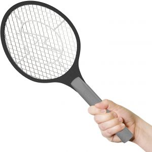 BugzOff Electric Fly Swatter Racket
