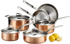 Lagostina Q554SA64 Martellata Stainless Steel Copper Cookware Set Review