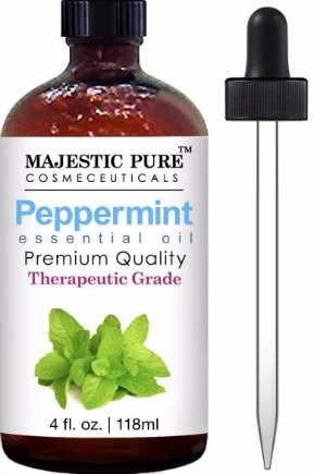 Majestic Pure Therapeutic Grade Peppermint Essential Oil Review