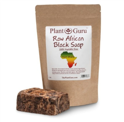 Plant Guru Raw African Black Soap