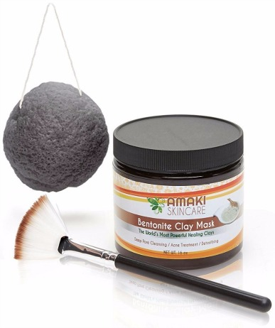 Amaki Skincare Bentonite Clay Mud Mask