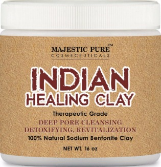 Majestic Pure Indian Healing Bentonite Clay