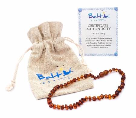 Review of the Baltic Amber Teething Necklace by Baltic Wonder