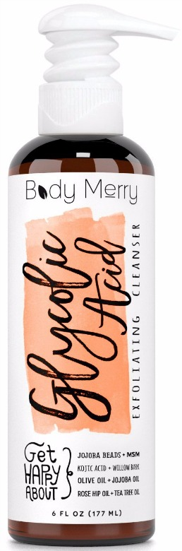 Body Merry Glycolic Acid Exfoliating Cleanser