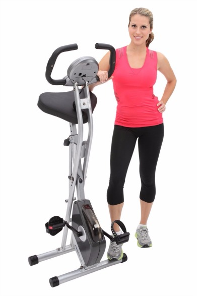 Features of the Exerpeutic 1200 Folding Magnetic Upright Bike