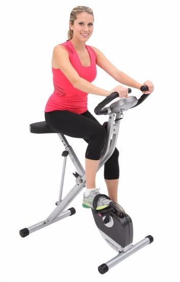 Exerpeutic 1200 Folding Magnetic Upright Bike with Pulse Review