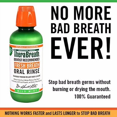 What the TheraBreath Oral Rinse Can do for Your Breath