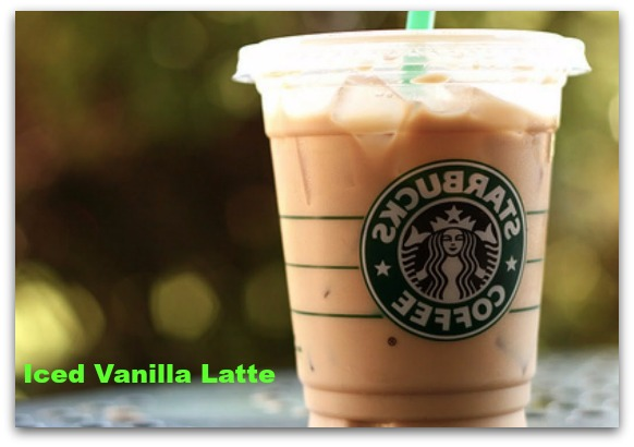 Iced Vanilla Latte - With Nonfat Milk