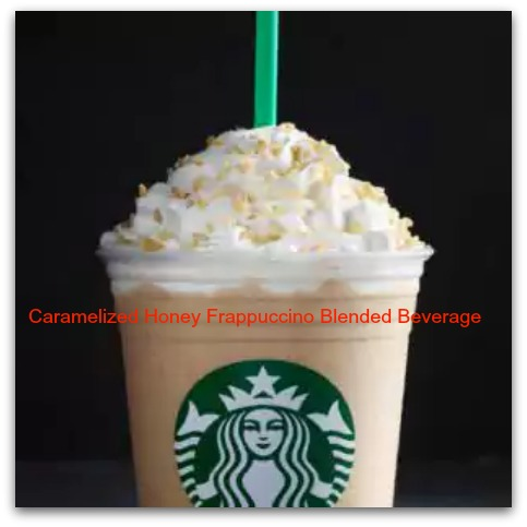 Caramelized Honey Frappuccino Blended Beverage