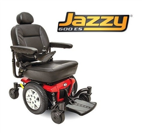 Pride Mobility Jazzy 600 ES Electric Wheelchair Review