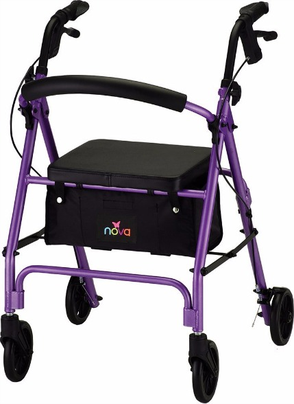 Nova Medical Product Vibe 6 Rolling Walker
