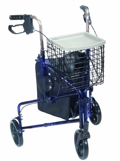 Drive Medical Winnie Lite Supreme Aluminum Three Wheel Rollator