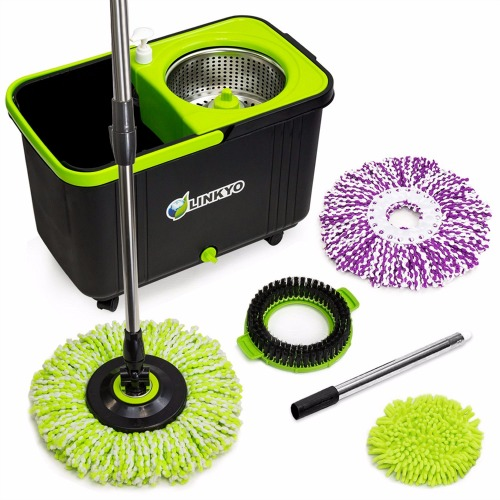 Linkyo Spin Mop Bucket System Review
