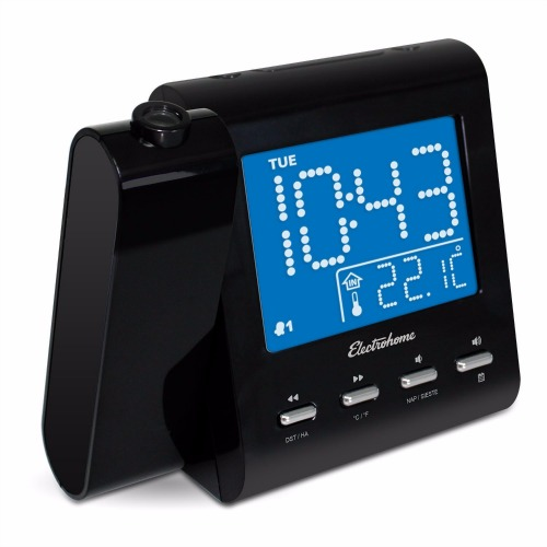 Electrohome EAAC601 Projection Alarm Clock Review