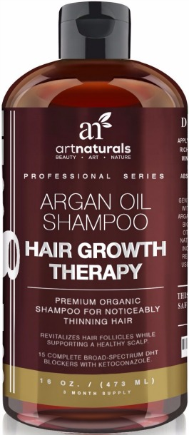 Art Naturals Organic Argan Oil Hair Loss Shampoo Review