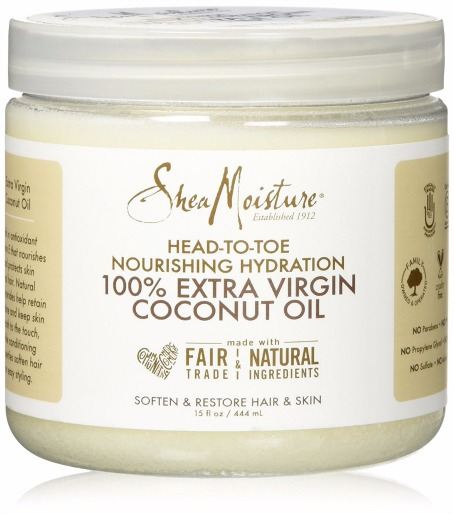 SheaMoisture Extra Virgin Coconut Oil Review