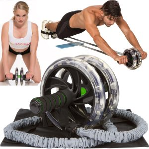 AB-WOW AB Roller Abdominal Exercise Equipment Review