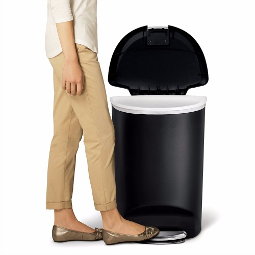 Simplehuman Semi-Round Step Trash Can Review