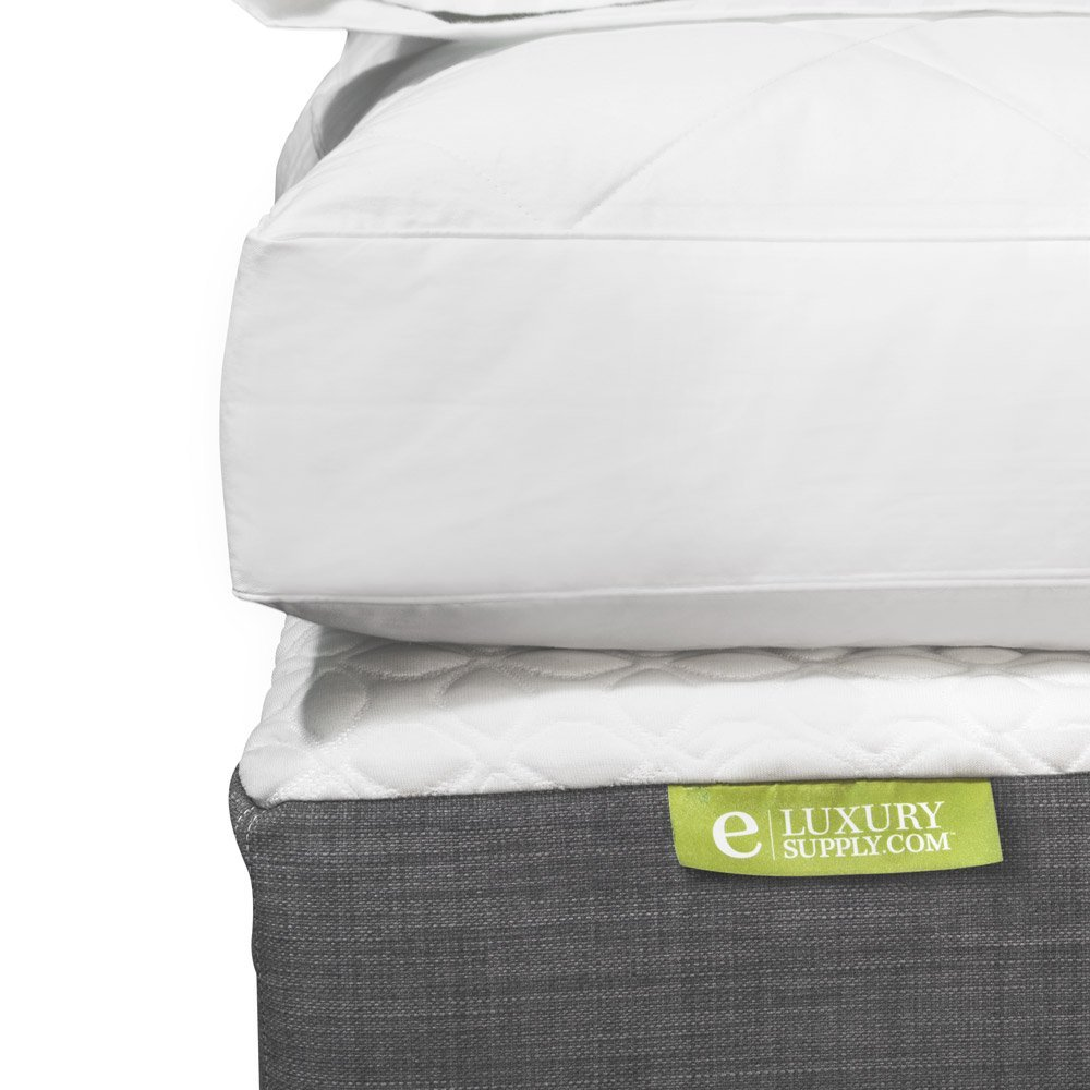 Exceptional Sheets Blended Feather and Down Mattress Topper Review