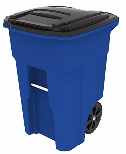 Toter 025548-R1705 Two Wheeled Trash Can Review