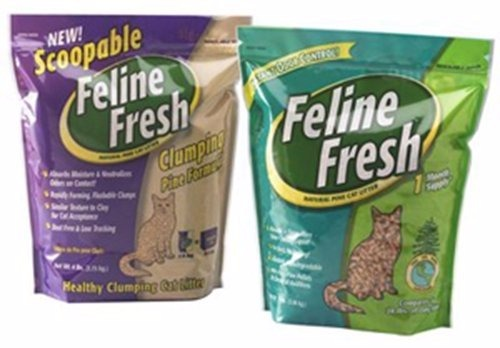 Feline Fresh Natural Pine Cat Litter Review