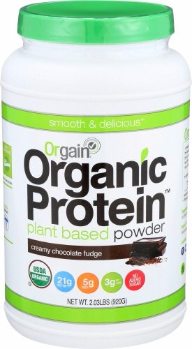 Orgain organic protein powder reviews