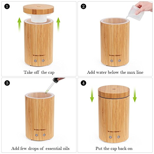 Innogear Bamboo Diffuser Instructions